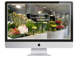 Blumenbinder Brokmeier, Web Relaunch